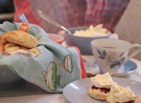 Easy scones recipe cooking in Kats Kitchen