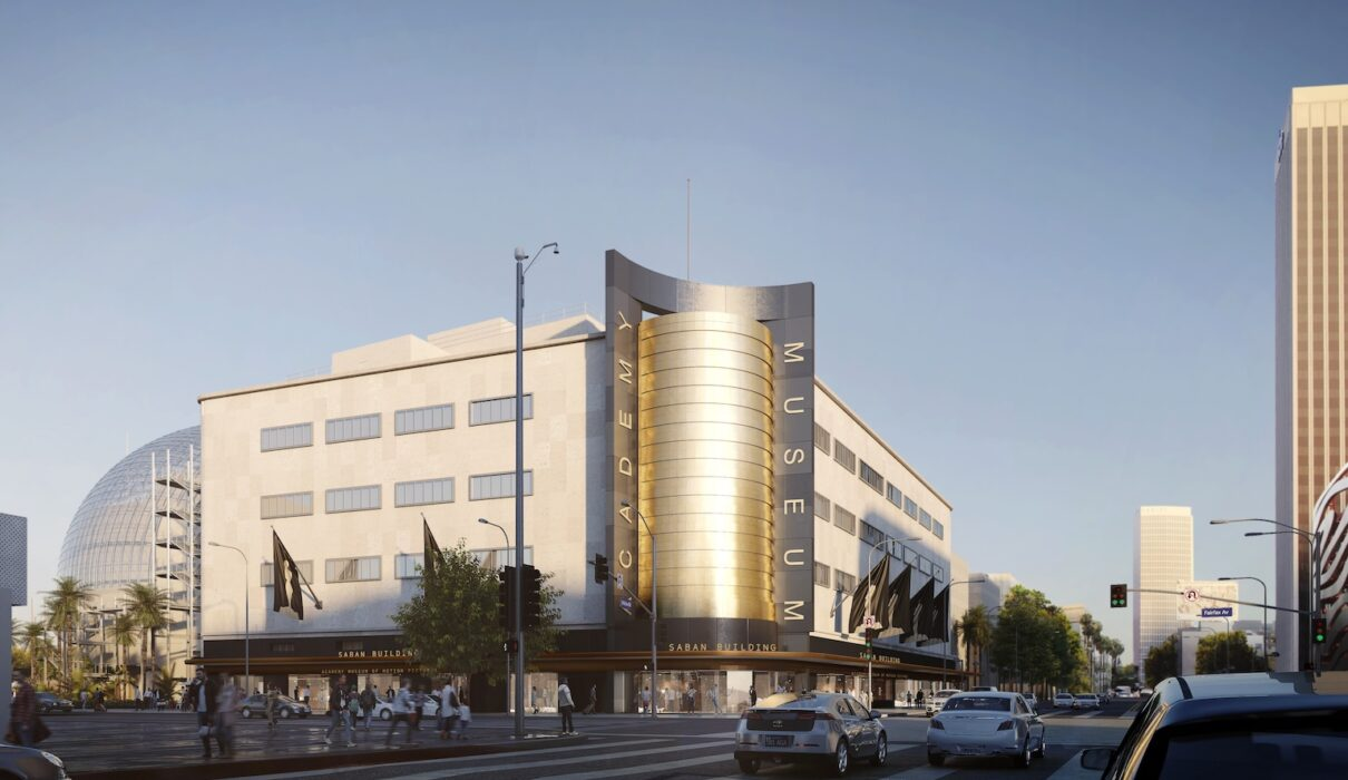 Academy Museum of Motion Pictures exterior rendering 2, © Renzo Piano Building Workshop: © Academy Museum Foundation: image from L'Ature Image