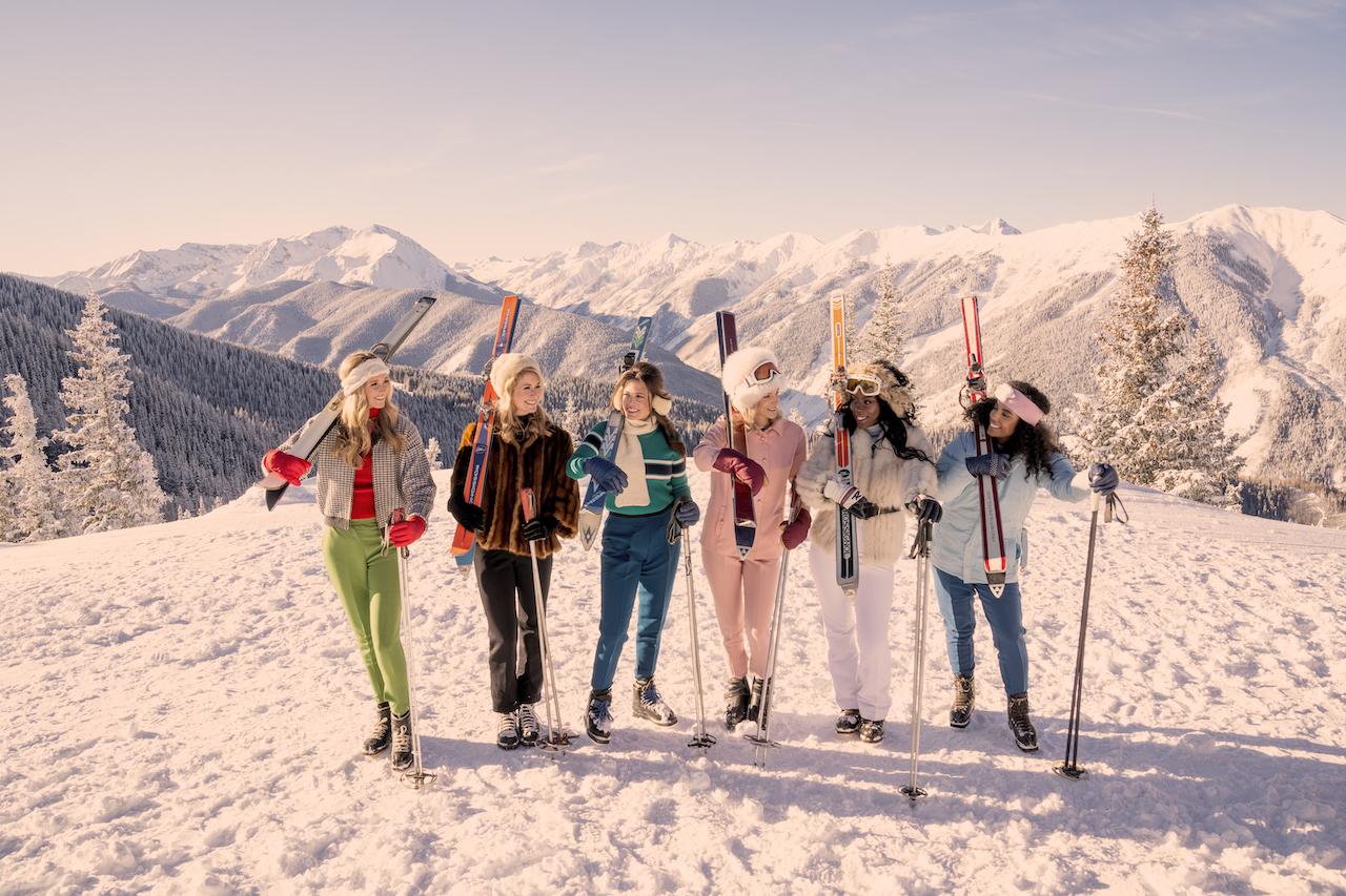 Aspen Mountain Girls © Gray Malin www.graymalin.com