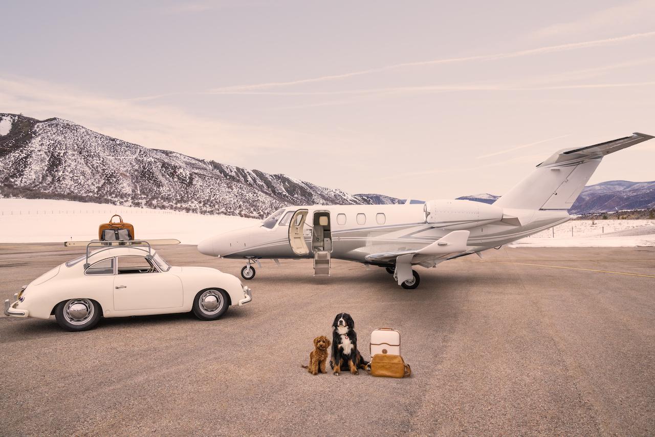 The Arrival, Aspen Private Airport © Gray Malin www.graymalin.com