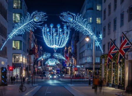 Bond Street Lights (c) New West End Company