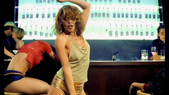 Kylie Minogue_Spinning Around. Image: Parlophone