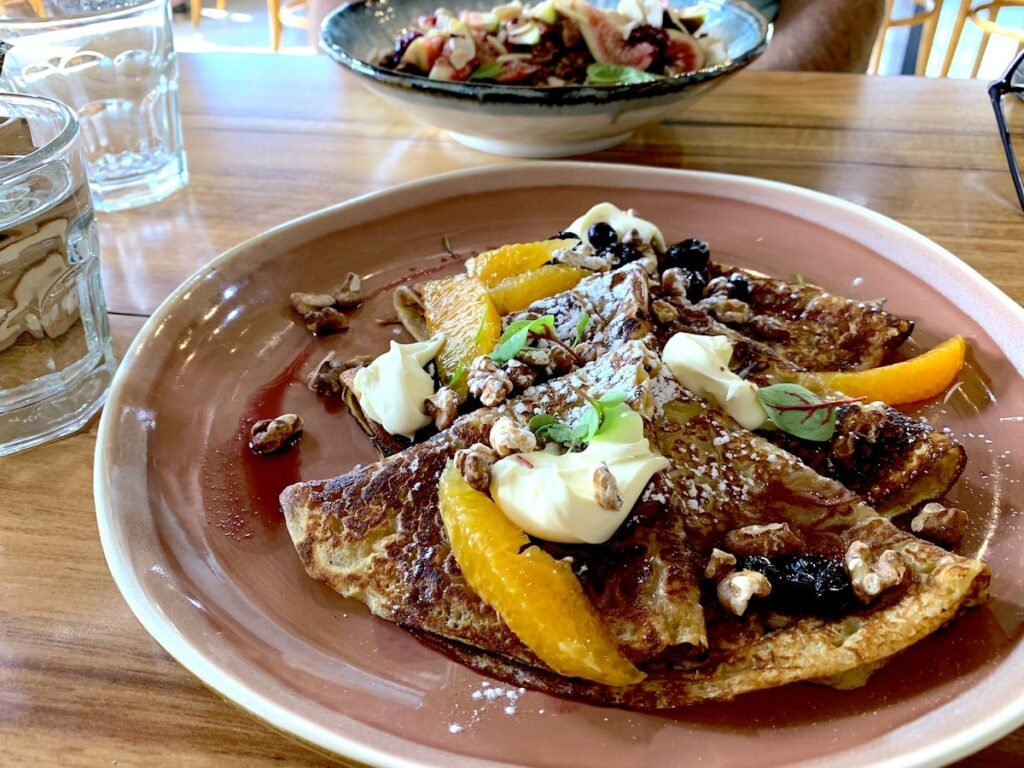 Crepes at Typica cafe Canberra by Vintage Travel Kat