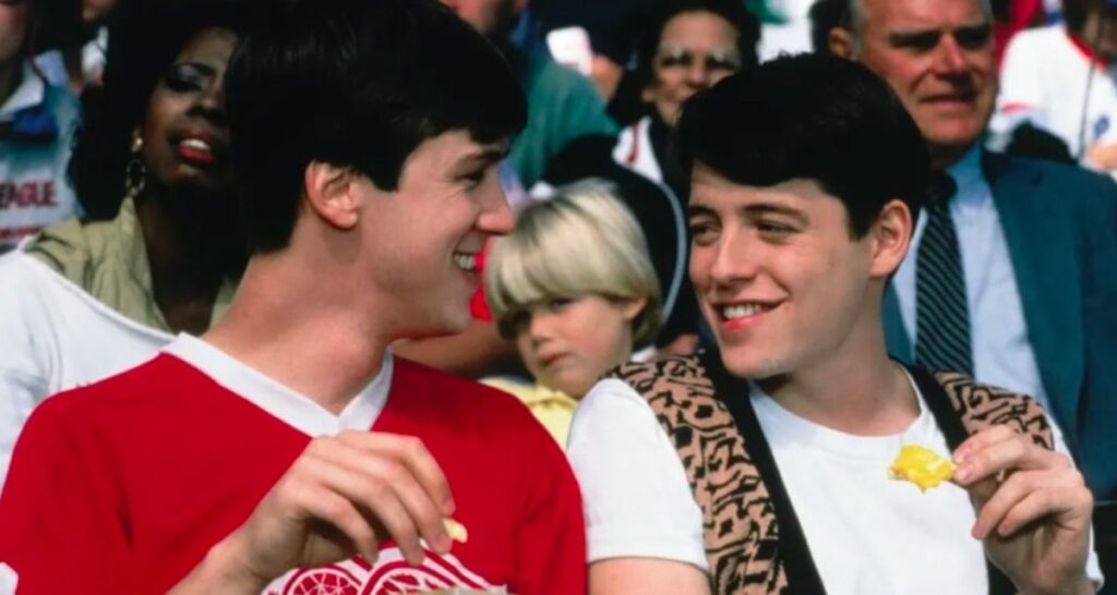 Ferris Bueller's Day Off Cameron and Ferris