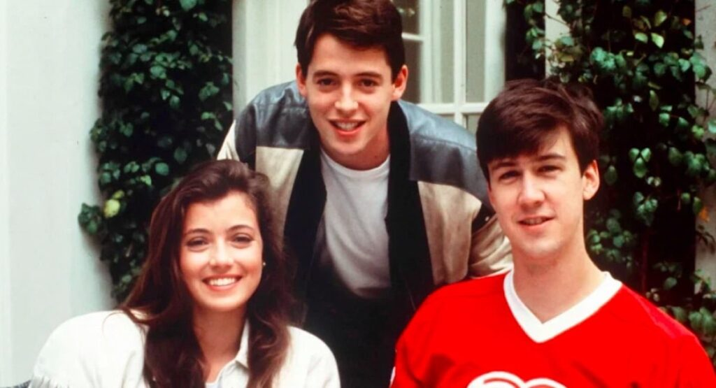 Ferris Bueller's Day Off, Sloanne, Ferris and Cameron