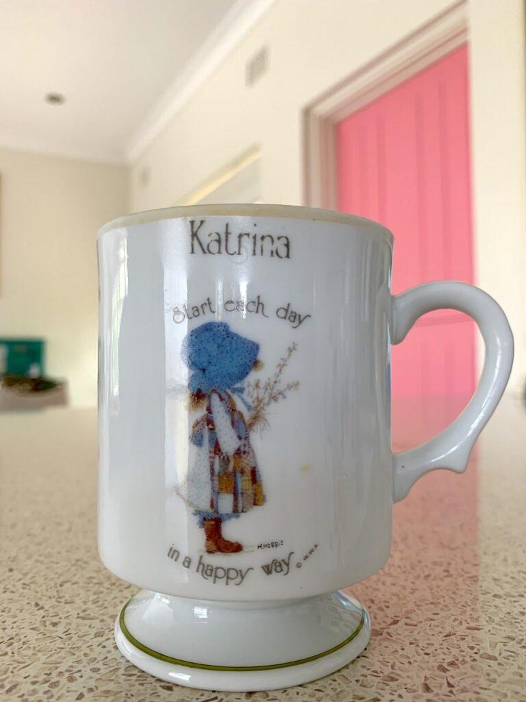 Holly Hobbie mug by Vintage Travel Kat