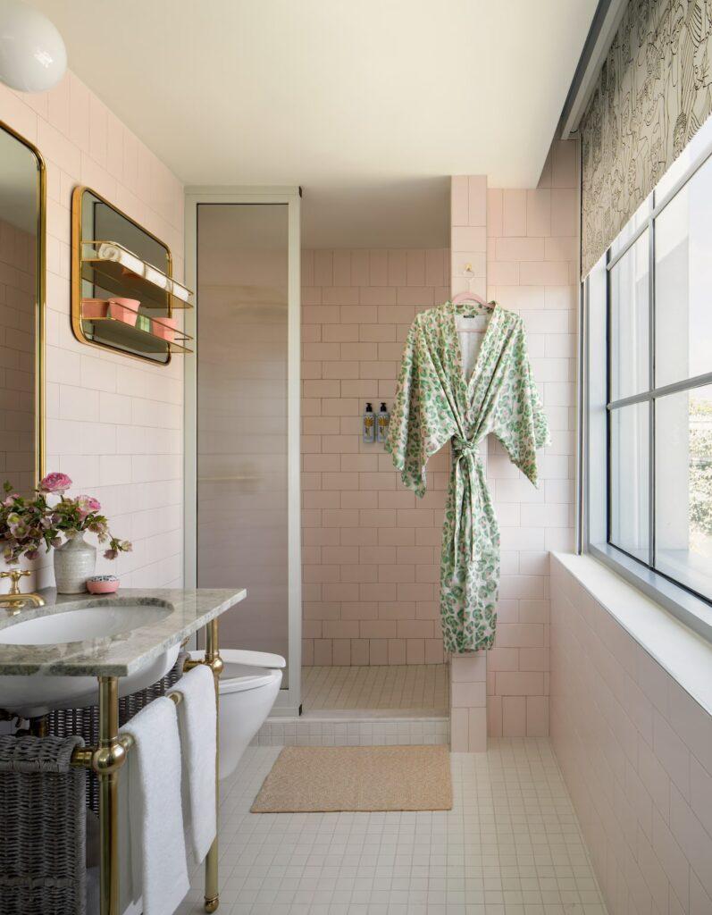 The Goodtime Hotel Bathroom by Alice Gao