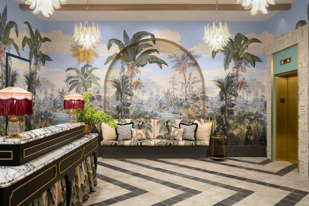 The Goodtime Hotel reception by Alice Gao