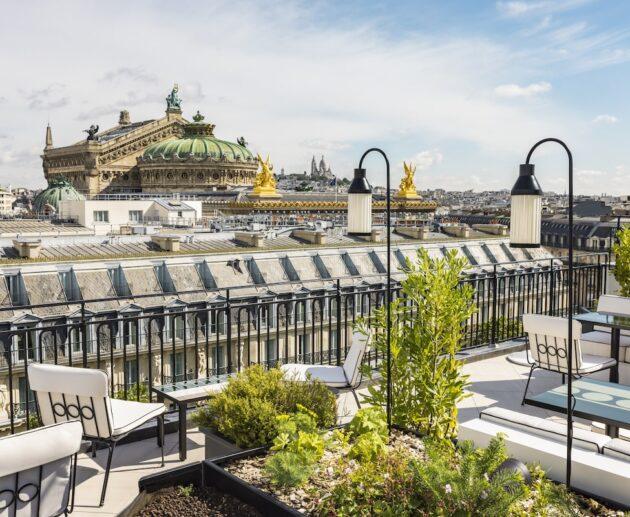 Kimpton St Honoré Paris rooftop