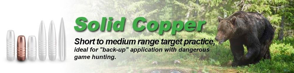 solid copper bullet ballistics