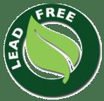 Lead free sticker