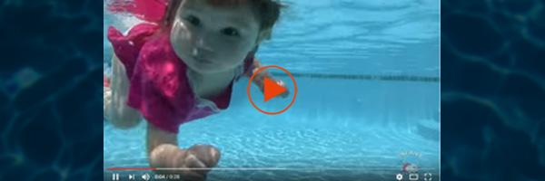 [VIDEO] Survival Swim (2 year old toddler)