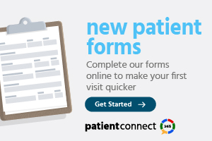 new patient forms banner