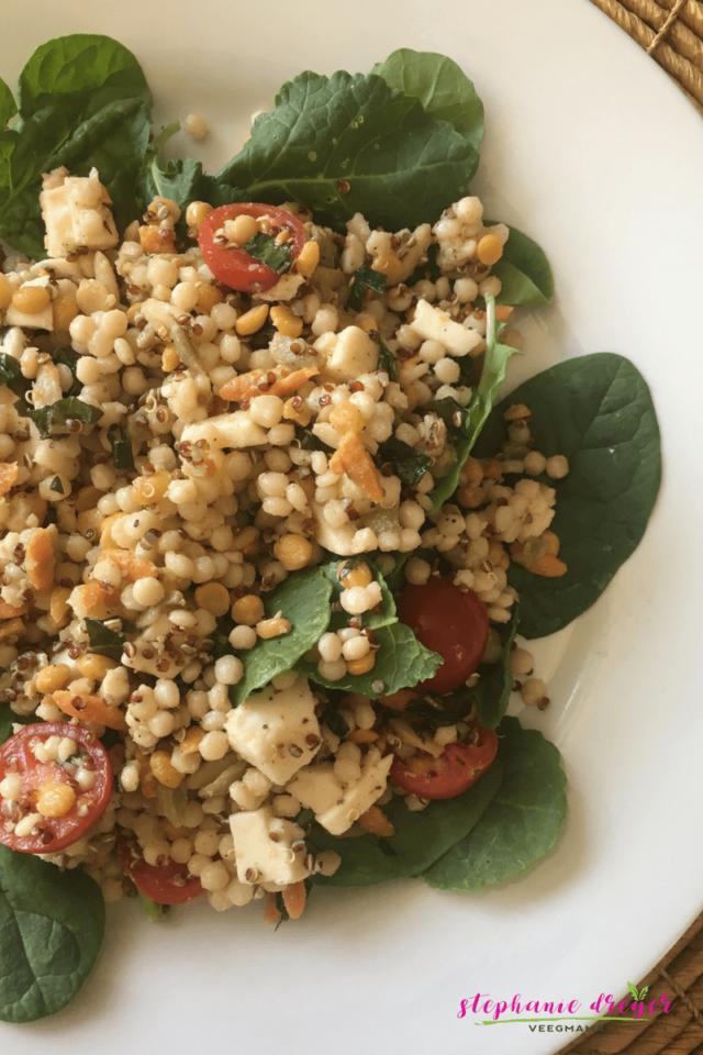 Kale Harvest Grains Salad