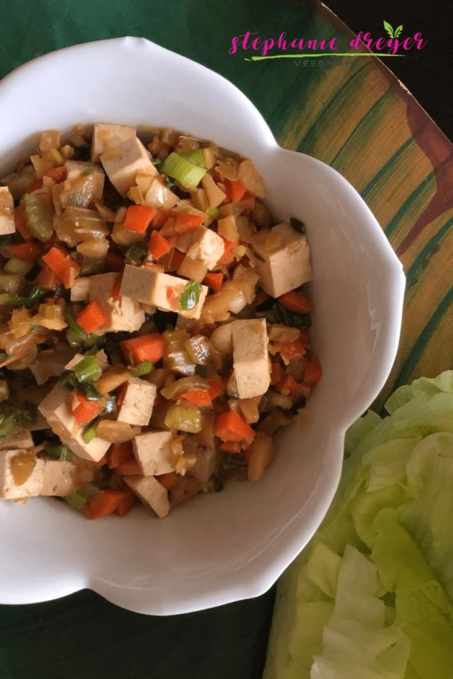 Tofu-Lettuce-Wraps