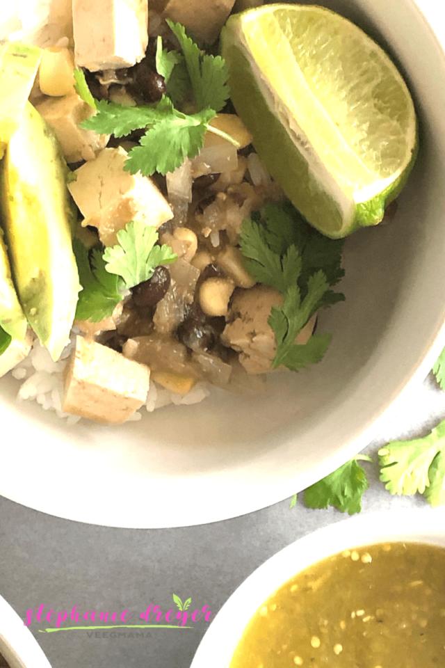 Tofu-Salsa-Verde