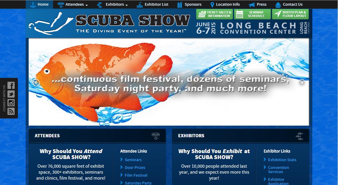 SCUBA Show 2016 – Marketing Updates