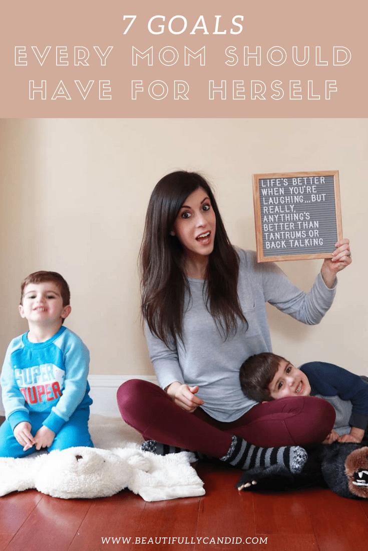Goals for motherhood