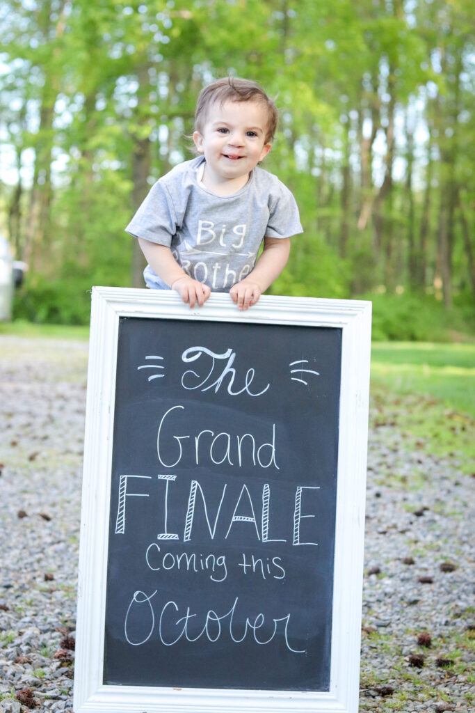 Baby Announcement-Big Brother