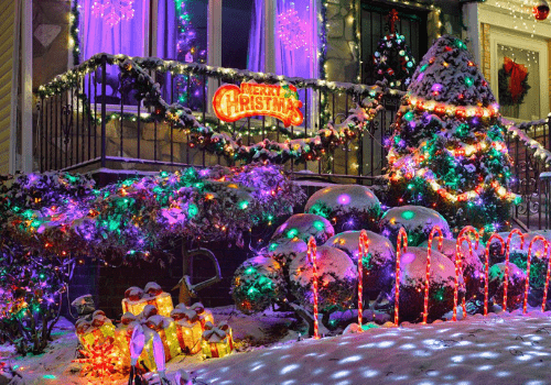 Dyker Heights & Holiday Lights