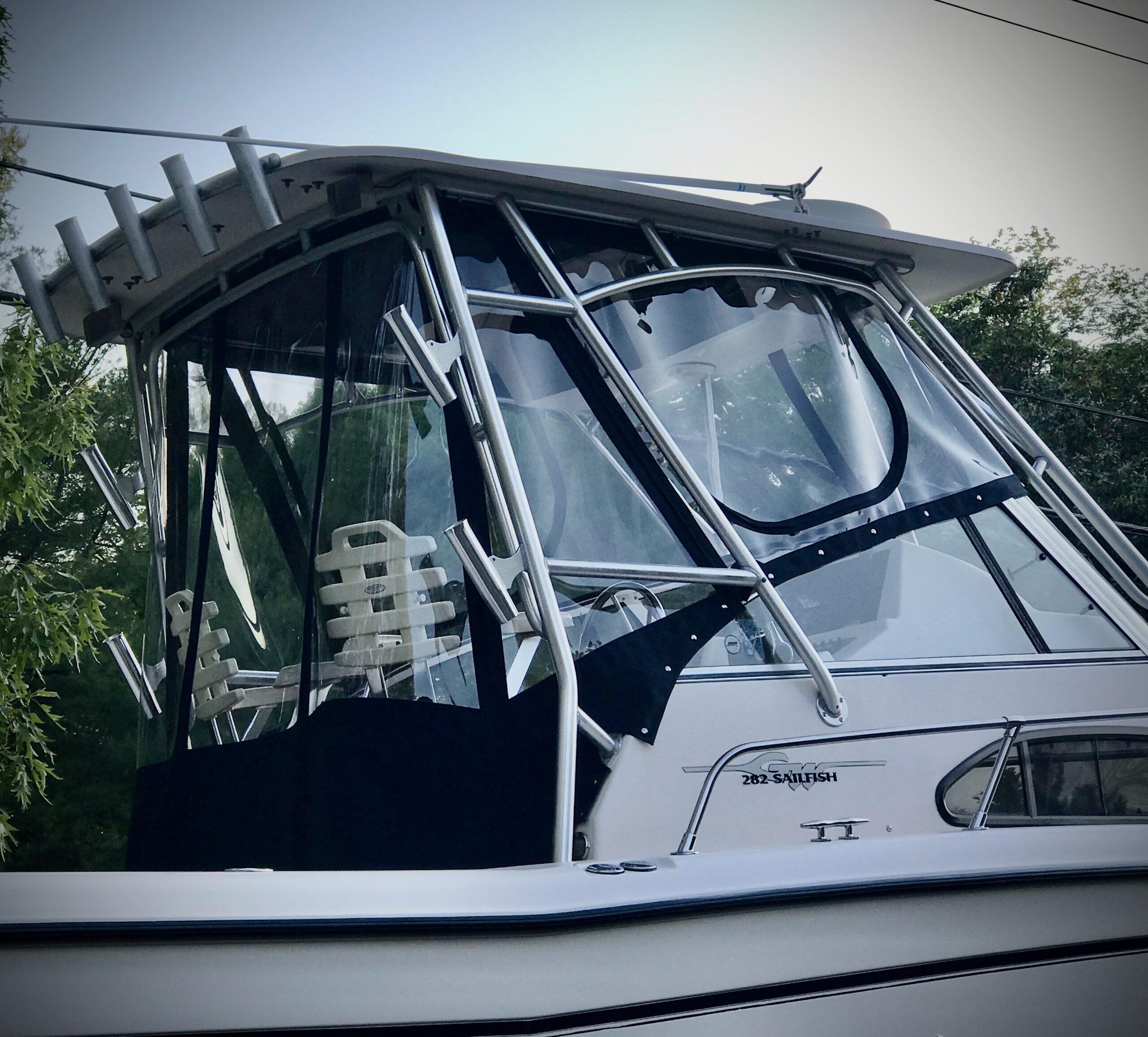 Boat Canvas Enclosure Cover