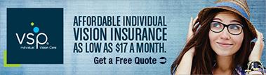 Affordable Individual Vision Insurance