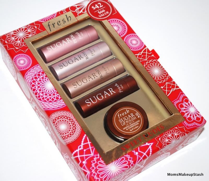 fresh lip sugar sweet nudes set