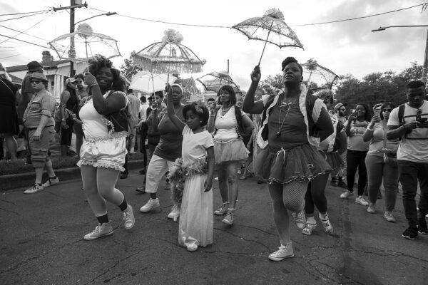 Second Line Dancers