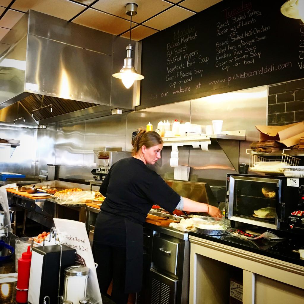Pickle Barrel Restaurant & Deli. Photo © Ben Young Landis.