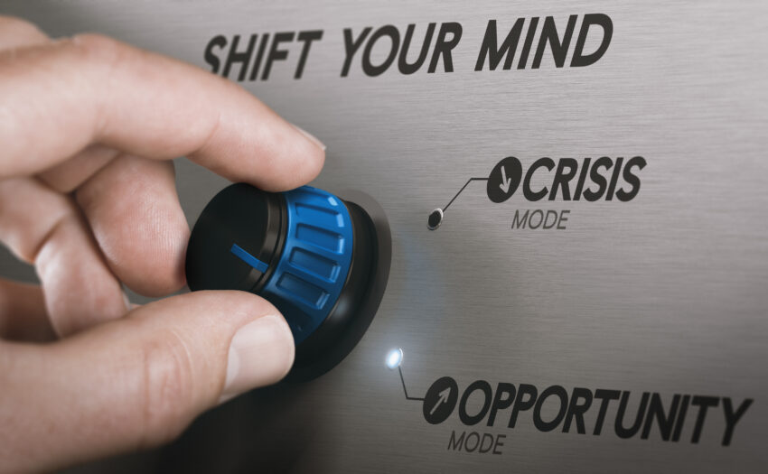 Shift from Crisis to Opportunity