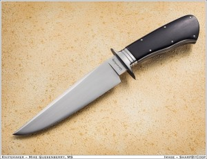 52100 Integral Fighter with ebony