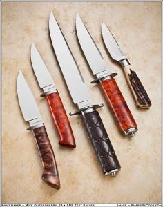 Journeyman Test Knives