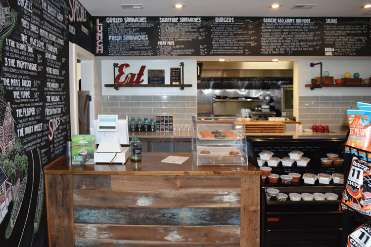 Delectable breakfast and lunch selections to please the palate from here and down under.