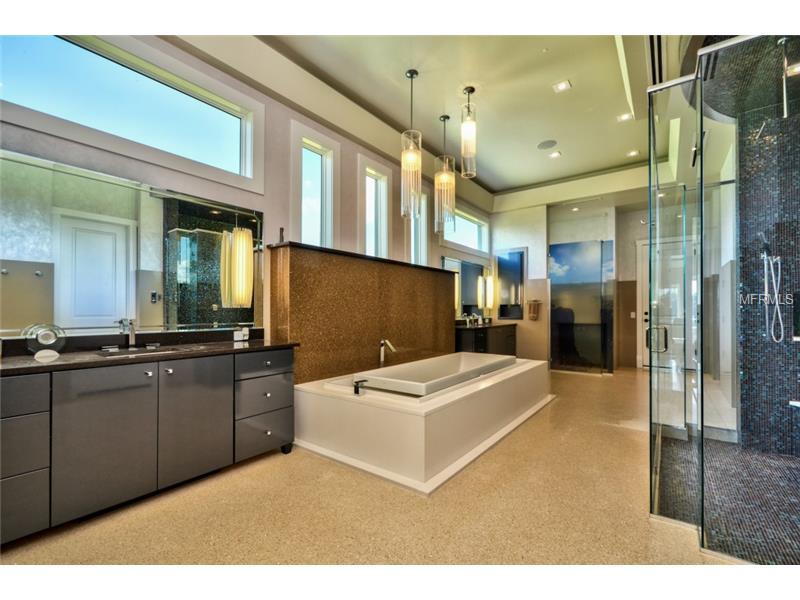 quartz bathroom