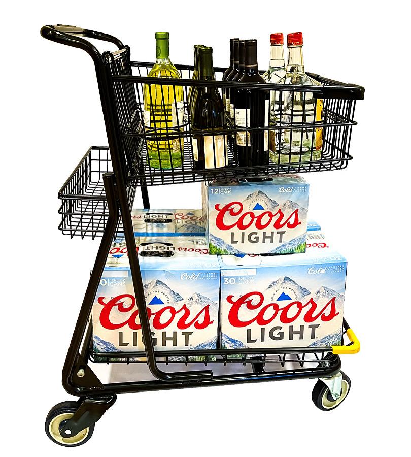 Best shopping cart for liquor stores