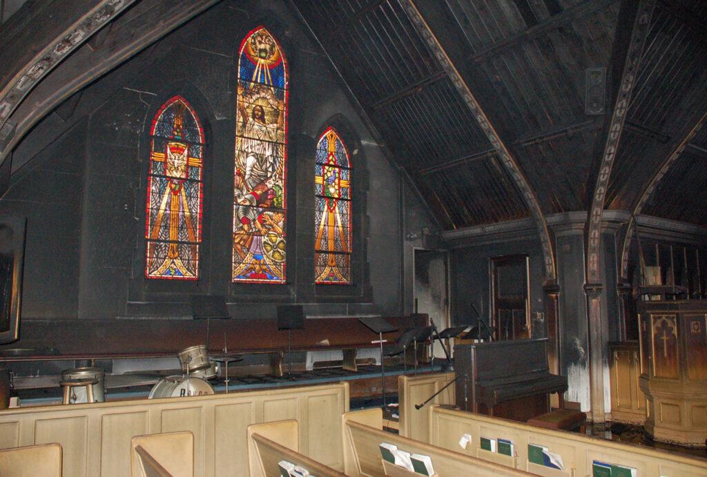 Edgebrook Church Fire