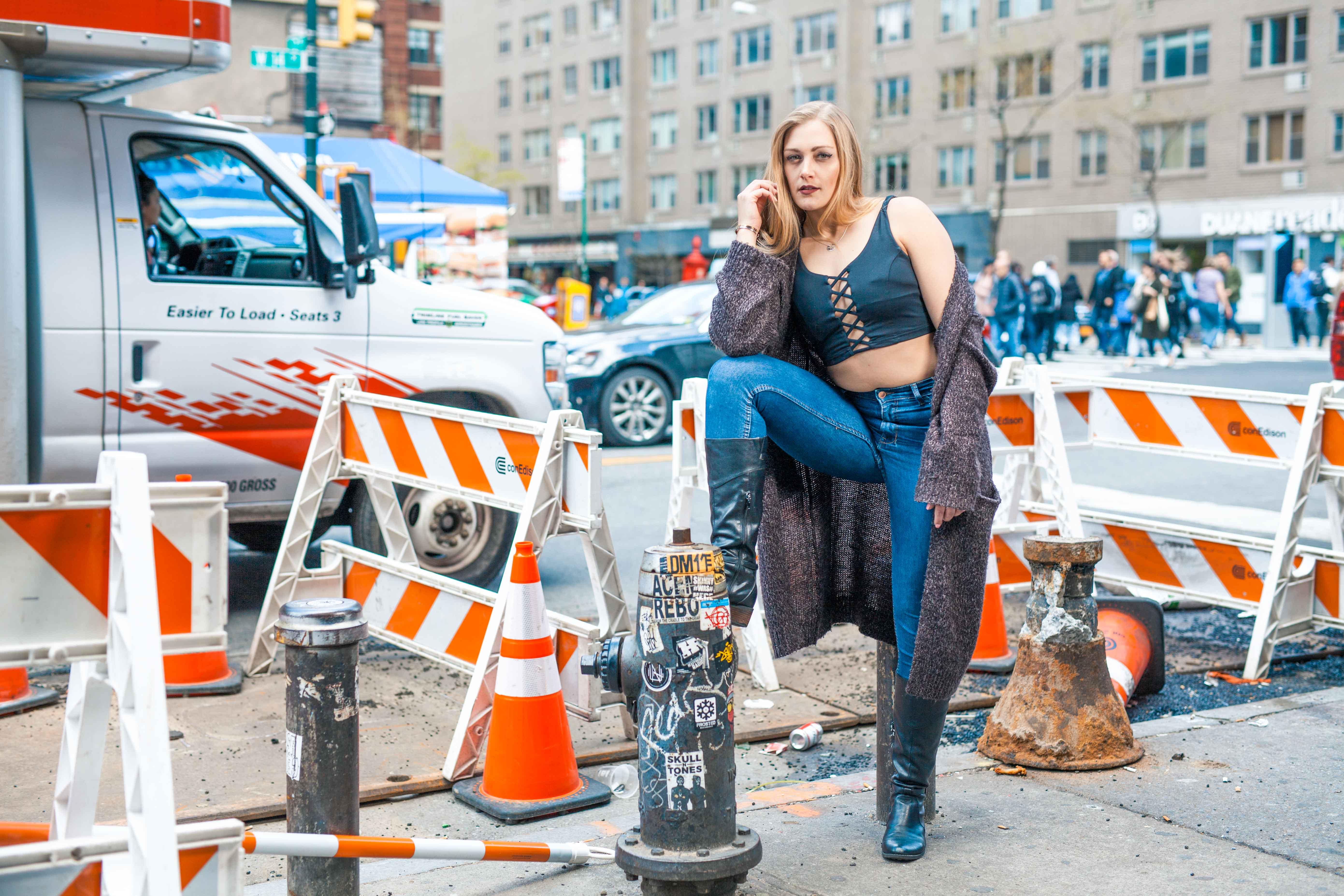 NYC fashion portrait photographer NJ