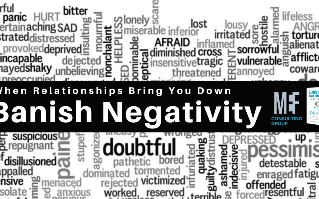 How to banish negativity from your life