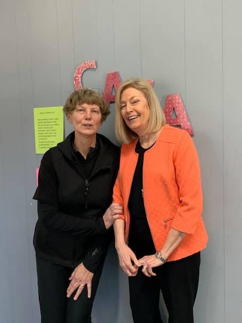 Christine with Judge Sherri Paul McDonald