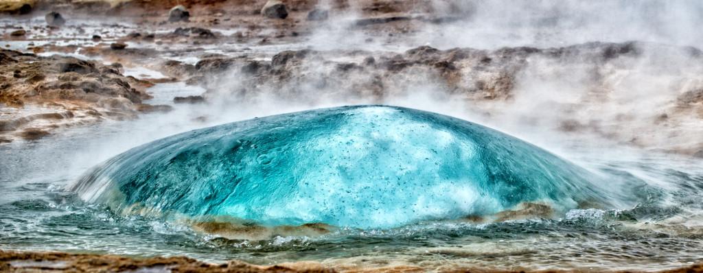 geyser bubble