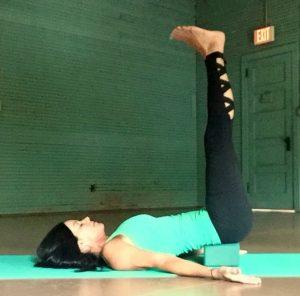 Lynette Mattina   Waterfall Yoga Pose
