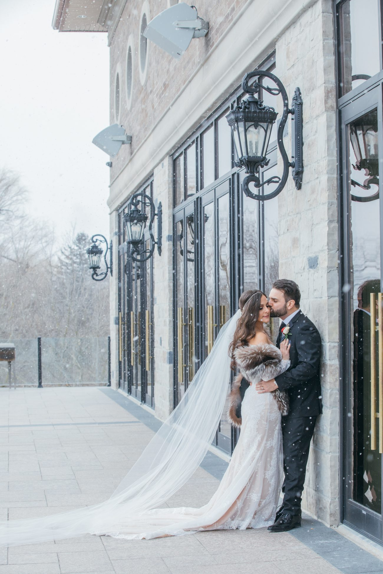 Majestic winter wedding at the Arlington