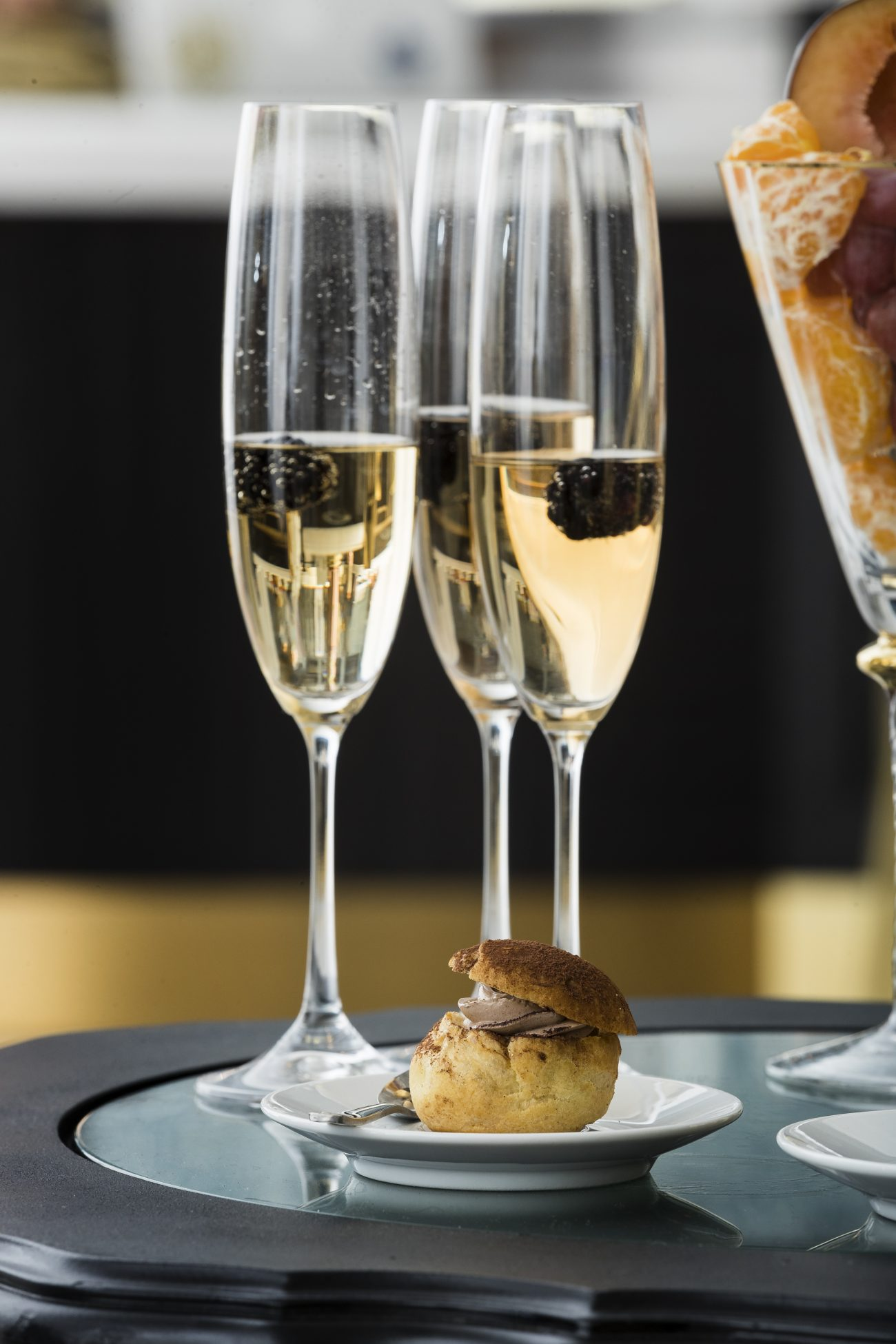Champagne and Appetizers