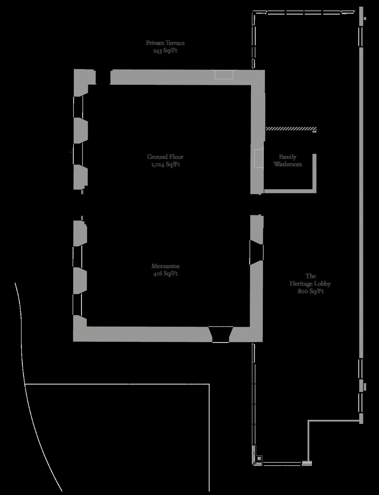 Heritage House Chapel Floorplan