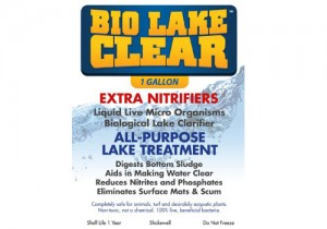 Nitrifying bacteria in ponds, Bio Lake Clear for ponds and lakes