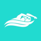 NYTriathlon - symbol of men swimming - bronx, aqua, swim