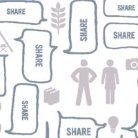 Custom Infographics Digital Sharing