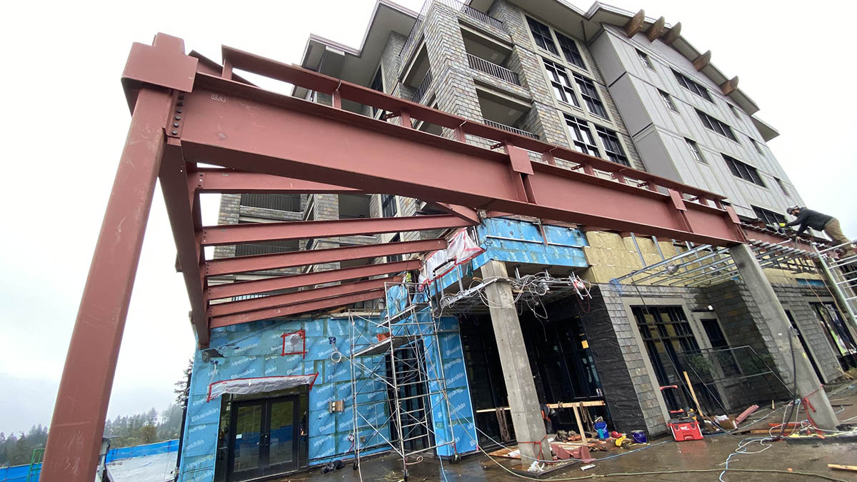 steel structure victoria british columbia canada