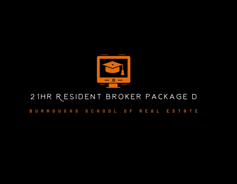 21 Hours resident broker package for continuing educational credits for real estate license. Get your real estate license in oklahoma online