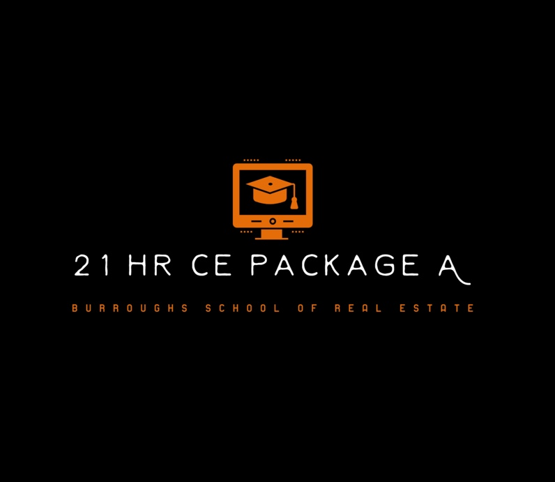 CE Course for real estate, 21 hours CE Burroughs Real estate school, OKlahoma Real Estate School